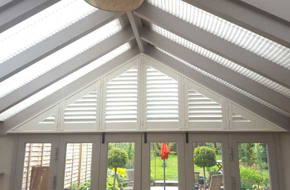 Conservatory Blinds by Elite Blinds and Shutters