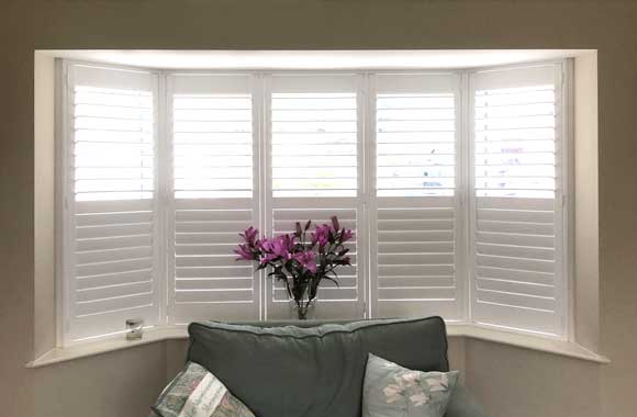 Full height shutters by Elite Blinds and Shutters