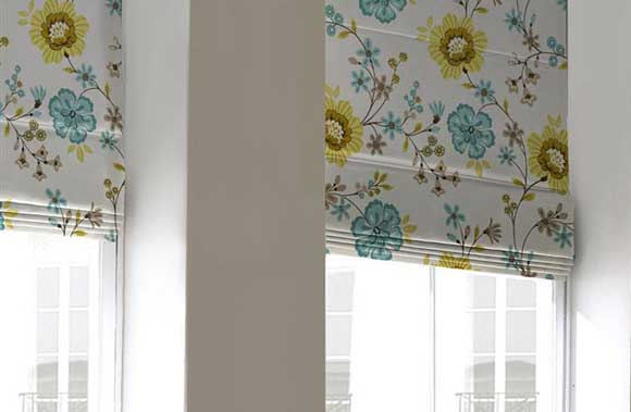 Roman Blinds from Elite Blinds and Shutters