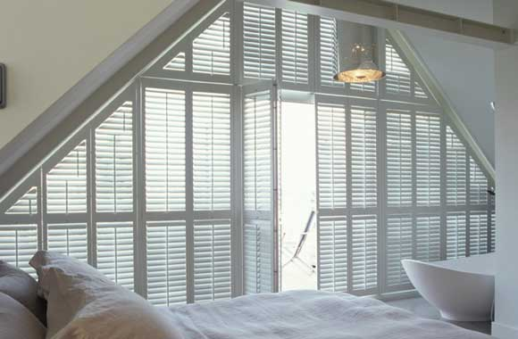 Special shape shutters from Elite Blinds