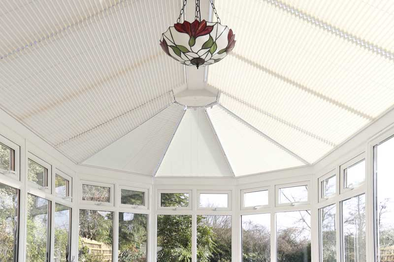 Conservatory Blinds by Elite Blinds and Shutters Canterbury