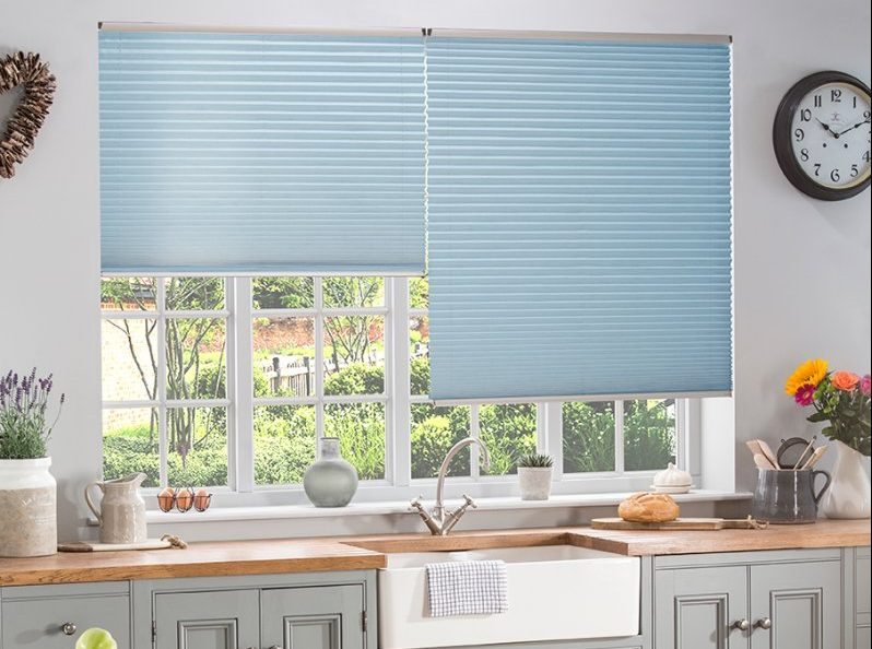 Pleated Blinds from Elite Blinds and Shutters